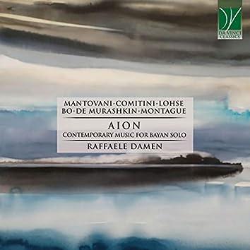 Mantovani, Comitini, Lohse, Bo, De Murashkin, Montague: Aion (Contemporary Music for Bayan Solo)