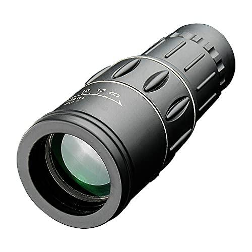 LBMTFFFFFF Binoculares Individuales de Gran Aumento, Alta definición, 16x52 binoculares para Exteriores Pueden Tomar Fotos con teléfonos móviles