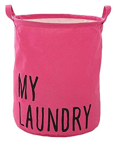 Lzpzz Cesta de lavandería plegable impermeable aperitivos revista necesidades diarias cubo de almacenamiento personalizado para el dormitorio sala de estar baño