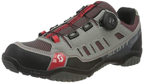 Scott Damen Sport Crus-R Boa Mountainbike Schuhe, Grau (Grey/Red 001), 40 EU
