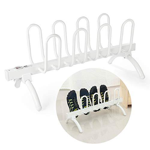 Dr.Taylor Elektrische Schuhe Trockner Ständer, 2 Paar / 4 Paar Schuhe Warmer trocknende Maschine, Winter Schuhdeo mit Organizer-Rack,4pair