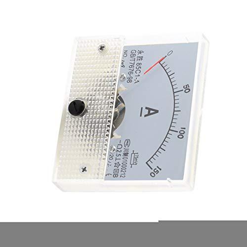 Aexit 85C1-A DC 150A Rechteck Analog Panel Amperemeter messen Ampermeter Klasse 2,5