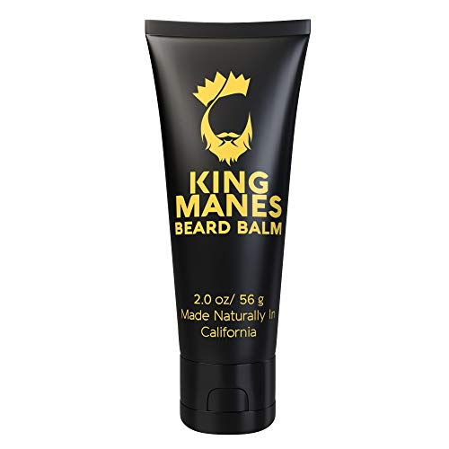 King Manes Beard Balm Leave-in Conditioner Tube, 2...