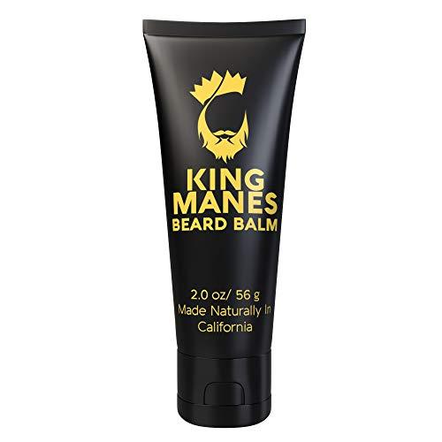 King Manes Beard Balm for Men, 2 Ounce Beard...