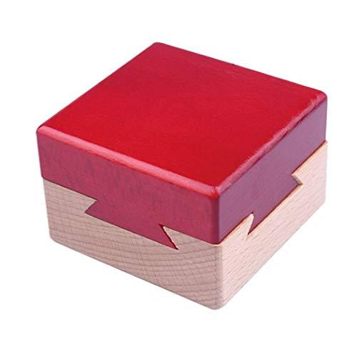 Moraphee Scatola per Puzzle in Legno rompicapo Confezione Regalo di Gioielli Segreti per Natale