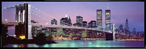 1art1 Nueva York Póster Puerta Marco Plástico -