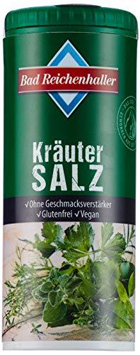Bad Reichenhaller Kräuter Salz, 8er Pack (8 x 90 g Dose)