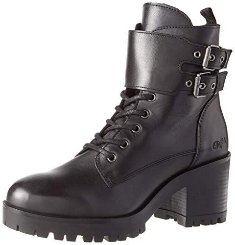 Buffalo Damen MIRA Mode-Stiefel, Black, 41 EU