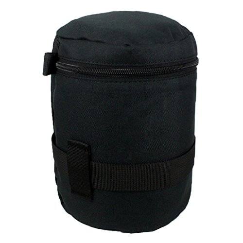 Andux Zone Padded Nylon Waterdichte Camera Lens Holster Buidelzak Case XJ/TB01, L, Zwart