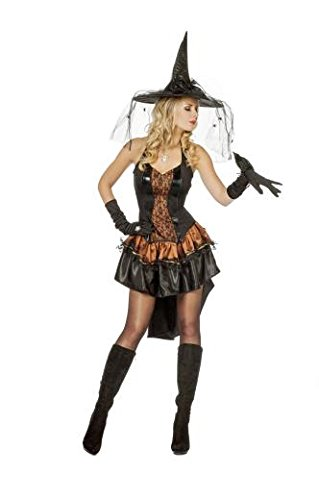Wilbers - Donne strega costume, formato BRITANNICO 10-12 (453.138)