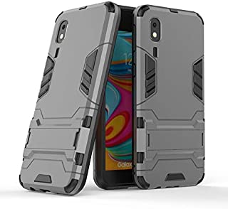 MUJUN 2019 Fashion All-inclusive Protective Case Compatible with Samsung Galaxy A2 Core/SM-A260, Dual Layer Armor, Rugged ...