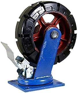 Heavy Duty Industriële Caster Wielen Swivel Anti-Skid Rubber Meubels Castor Plate Capaciteit 3000 kg Slijtvast voor Werkba...