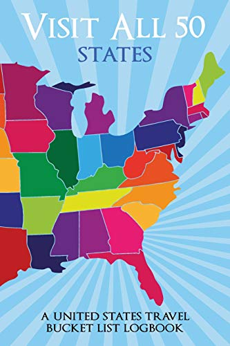Price comparison product image Visit All 50 States: A United States Travel Bucket List Logbook