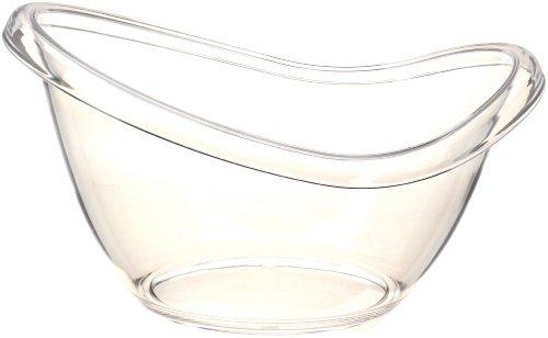 """Prodyne AB-19 Big Bath Beverage Tub, 9""""X13""""X11"""", Clear"""