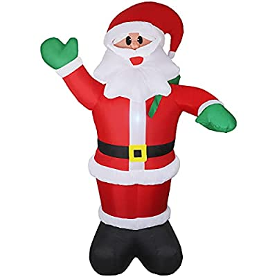 Amazon Promo Code for Santa Claus 6ft Christmas BlowUp Yard Decoration with 19102021040309