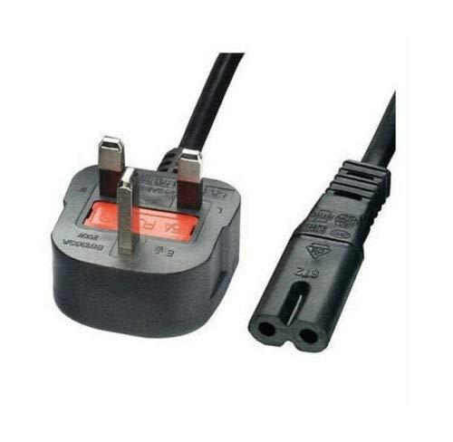 Fig 8, cable de alimentación Reino Unido 3 pines enchufe compatible con reproductor de DVD Panasonic Blu-Ray, 5 m