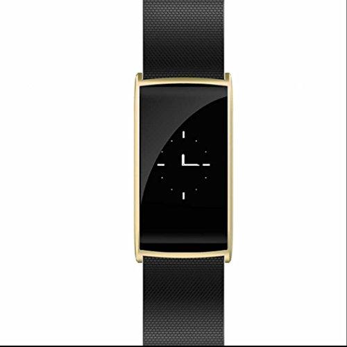 Herzfrequenz Aktivitätstracker Smartwatch Blutdruckmonitor Intelligent Uhr Sedentary Reminder Smart Armband Uhr mit Android und IOS Smart Phones