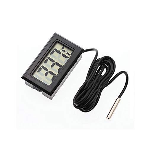 Aofocy Compact Espace Thermomètre Digital, à l'intérieur de la Voiture, réfrigérateur, Aquarium contrôle de température