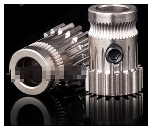 CML Kit Kit Dual Drive Gear Kit estrusore clonato BTech Upgrade Adatta per Extruder Fit for Prusa I3 Stampante 3D Gear Mini Bowden Extruder