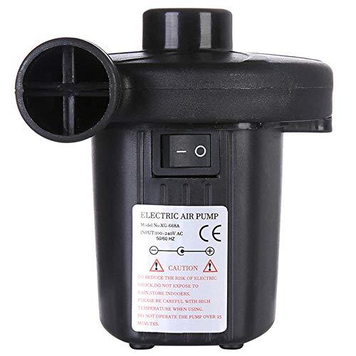 SXDE Bomba Hinchable de Dos vías para Uso doméstico. Colchón de Aire eléctrico. Bomba de Camping. Inflado rápido portátil