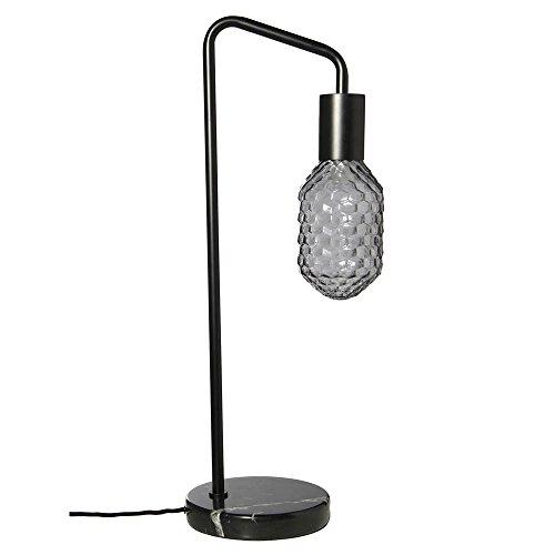 Lampe de table socle en marbre verre gris Frandsen Urban