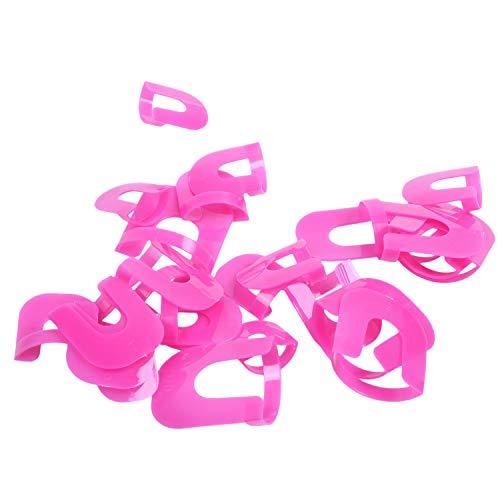 REFURBISHHOUSE 26 piezas Kit de plantillas de esmalte de unas reutilizables unas borde de la piel, herramientas de belleza cuidado de unas para mujeres