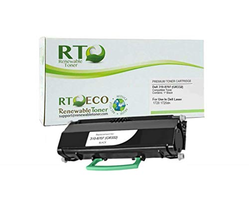 Renewable Toner Compatible Toner Cartridge Replacement for Dell 310-8707 1720 1720dn