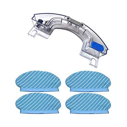 ZHIXIANG Tanque de Agua y Limpiar de Tela Pad Set for Ecovacs Deebot Ozmo 920 950 Kit de reemplazo Aspiradora