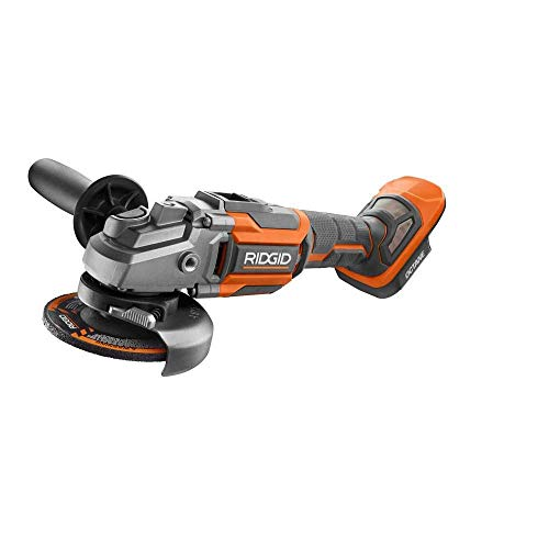 Ridgid 18-Volt OCTANE Cordless Brushless 4-1/2 in. Angle Grinder (Tool Only) (Non-Retail Packaging) (Renewed)