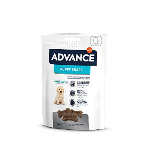 ADVANCE Snacks, Para Perro Puppy - Paquete de 7 x 150gr - Total 1050gr ⭐