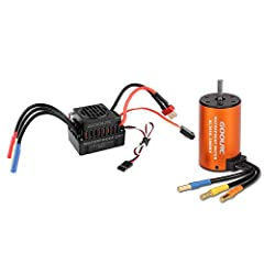 4 pole 12 slot high-torque motor design Precision engineered for maximum energy conversion Precision balanced rotor,smoothness for best reliability and maximum RPM Mutiple protection features: Low voltage cut-off protection, over-heat protection, thr...