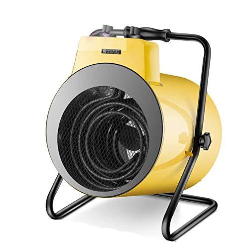 AJH Calentadores eléctricos Calentador Industrial con protección contra sobrecalentamiento, Solo se Puede Usar CA trifásico, Potencia hasta 9000 W de Calentamiento rápido en 3 s