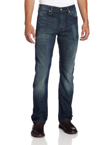 Levi's Men's 513 Stretch Slim Straight Jean, Cash, 31x32