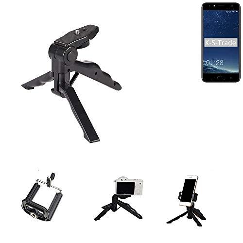 K-S-Trade Trípode para Teléfono Móvil M-Horse Power 2 Trípode Mini De Cámara Compacta Trípode De Teléfono Móvil Plástico Negro (1x)