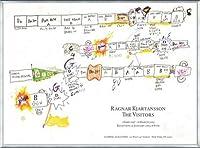 ポスター ラグナル キアルタンソン The Visitors February 1 ? March 6 2013年 額装品 アルミ製ベーシックフレーム(シルバー)