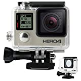 Kitmose Waterproof Case Protective Housing for GoPro Hero 4, Hero 3+, Hero3 Outside Sport Camera for Underwater Photography - Water Resistant up to 147ft (45m)