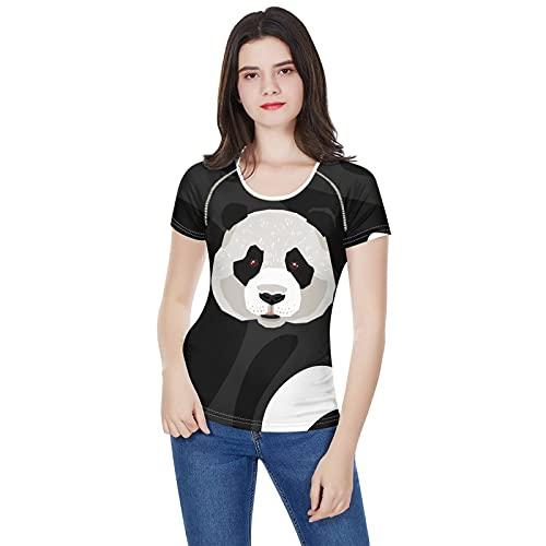 SLYZ Camisetas De Manga Corta De Animales De Dibujos Animados De Verano para Mujer Camisetas De Todo Fósforo con Cuello Redondo Delgado para Mujer