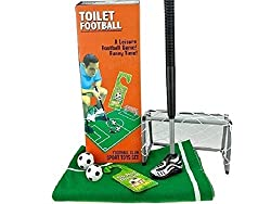 GiggleBeaver Toilet Loo Soccer Football Funny Novelty Game