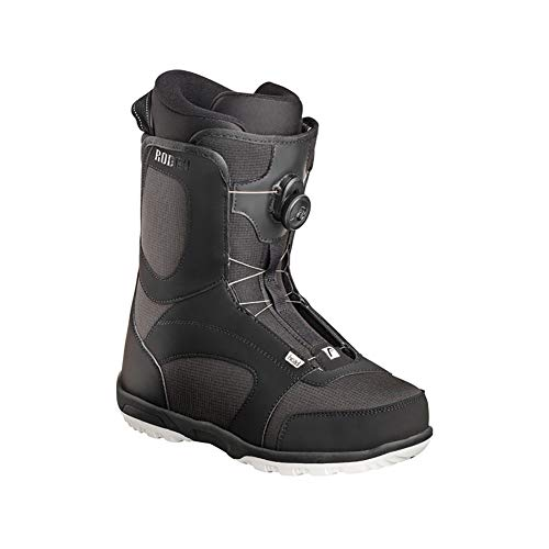 HEAD Unisex Rodeo Boa Trace Sole Freestyle Snowboard Boots, Black, 305