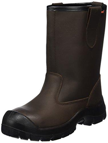 Gevavi Safety veiligheidslaarzen GS83 S3 met stalen neus en stalen zool 47, unisex veiligheidslaarzen voor volwassenen