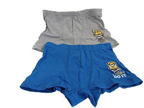 Disney Minions Boxershorts Unterhosen Set Jungen (104/110)