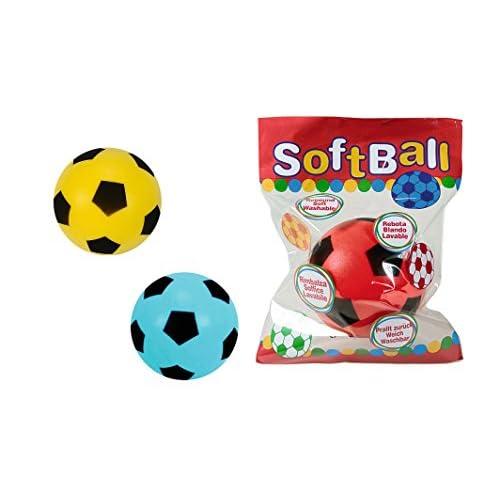 Simba Noris A596- Pallone da softball, da calcio e da gioco, colori assortiti
