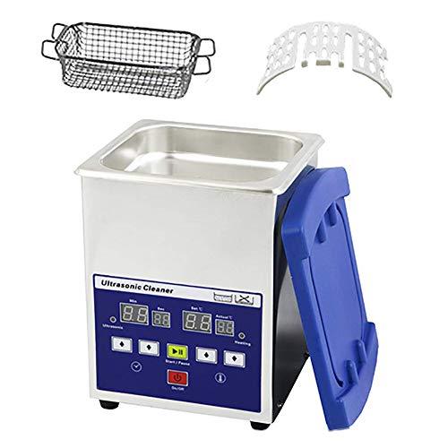 Ultraschallreiniger, 1.3/2 / 3L Reinigung Digitalmaschine Mit Zeitschaltuhr | Heizfunktion, Ultraschallbadreinigung Wissenschaftliche Laborindustrie Schmuck Gewerblicher Eigenheimgebrauch,1.3L