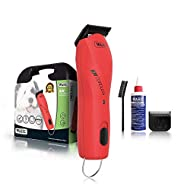 Powerful, cordless dog clipper with 2 speed motor. Lithium Ion battery technology provides 2 hours of cordless run time from a 60 minute charge 2 Speed motor (3000-3700 rpm) with constant speed control automatically gives a burst of power when going ...