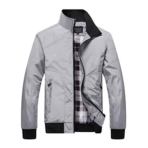riou Abrigo de Plumas para Hombre Invierno Mezcla de Lana Trenca Outwear Jacket Regular Fit Chaquetas Militares Casuales Tops Blazer Cálida al Aire Libre Antiviento