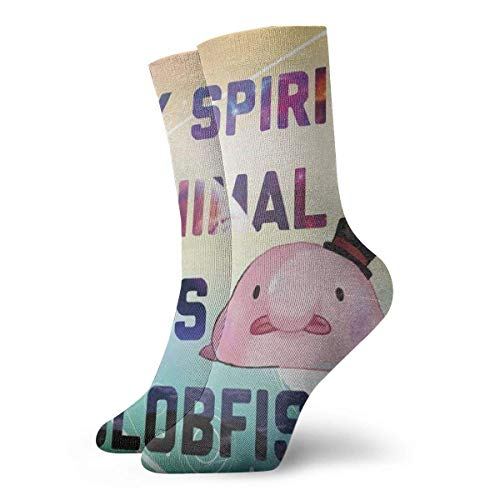 Calcetines Casuales My Spitit Animal Blobfish Printed Sport Athletic Calcetines Calcetines de compresión...