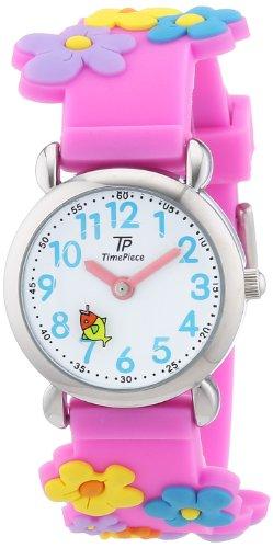 TP Time Piece TPCA-90695-41P - Orologio da polso ragazza, silicone, colore: multicolore