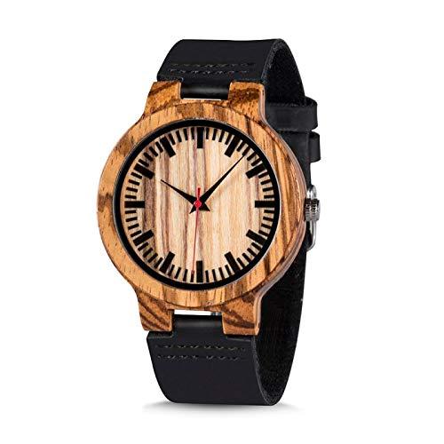 Promoción Reloj de Madera Reloj de Pulsera...