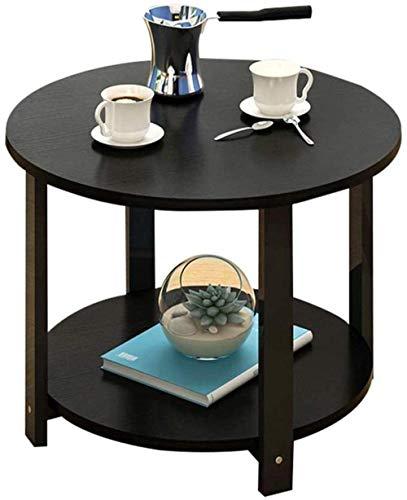 Support de Bureau The Tea-Tabelle.Einfach Table Basse Double Couche Salon canapé Table d'appoint Cadre Livre Porte-revues Chambre Table de négociation Chic