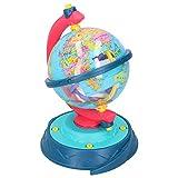 Liujaos Modelo de Globo, Juguetes educativos Juguete de geografía Mundial DIY Modelo de Globo Juguete de ensamblaje de Tuerca de Juguete para el hogar